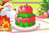 Gâteau d'anniversaire et de Noël