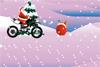 Père-Noël en moto
