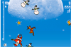 Récolte des points avec le père Noël