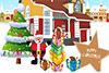 Jardin de Noël à décorer