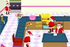 L'usine de gâteaux du père-Noël