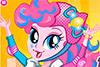 Pinkie Pie fait du roller