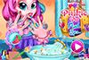 Soins des mains pour Pinkie Pie