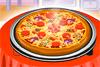 Pizza bien garnie