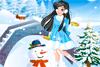 Jeux sous la neige