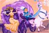 Princesse et carrosse