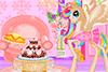 Une licorne prête pour son anniversaire