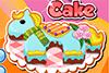 Gâteau poney pour petite fille