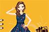 Une robe à fleurs pour Louna