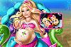 Soigne Barbie sirène enceinte