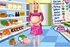 Faire les courses avec Barbie