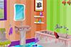 Salle de bain de Draculaura à nettoyer