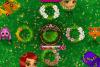 Jeu de filles : couronne de fleurs