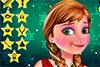 Maquillage de Noël pour Anna