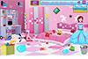 Chambre de princesse à ranger