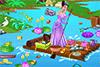 Radeau de la princesse Tiana à ranger