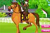 Princesse Irène à cheval