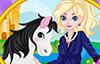 La reine Elsa et son cheval