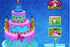 Gâteau d'anniversaire d'Elsa à décorer