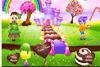 Crée un monde de bonbons