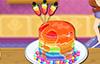 Rainbow Cake pour un anniversaire
