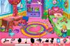 Objets cachés dans chambre de petite fille
