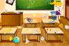 Ecole à nettoyer