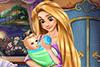 Ambre et son bébé