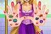Soigne les mains de Joséphine