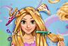 Princesse aux cheveux longs à coiffer