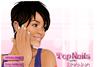 Jolie manucure pour Rihanna