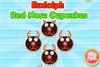 Cupcakes en forme de rennes