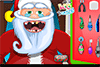 Dents du père-Noël à soigner