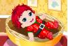 Bébé de Noël à habiller