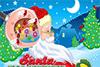 Soigne l'oreille du père-Noël
