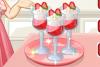 Parfaits à la fraise
