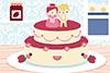 Gâteaux de mariés à transformer