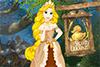 Style doré pour princesse