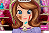 Plaie d'Annabelle à soigner