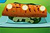 Saumon grillé pour bébé diinosaure