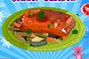 Recette de saumon grillé-pâtes