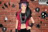 Jeux de fille à la mode punk
