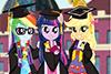 Remise du diplôme pour les filles d'équestria