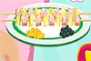 Brochettes jambon et ananas