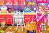 Range la cuisine de Barbie