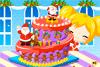 Superbe gâteau de Noël