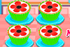 Fais des cupcakes coquelicots