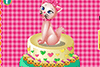 Gâteau chat à décorer