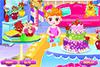 Fleurir un salon et un gâteau
