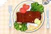 Cuisine un bon steack